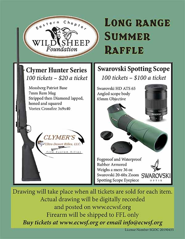 Long Range Summer Raffle-Drawing Nov. 7th, 2020