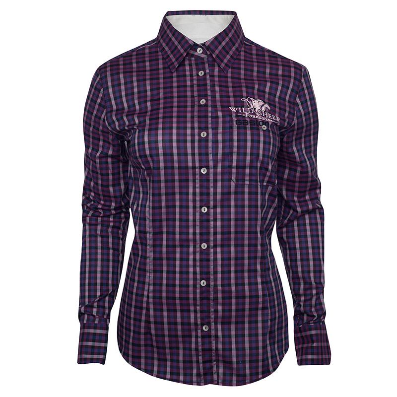 Gaston Glock Ladies Plaid LS