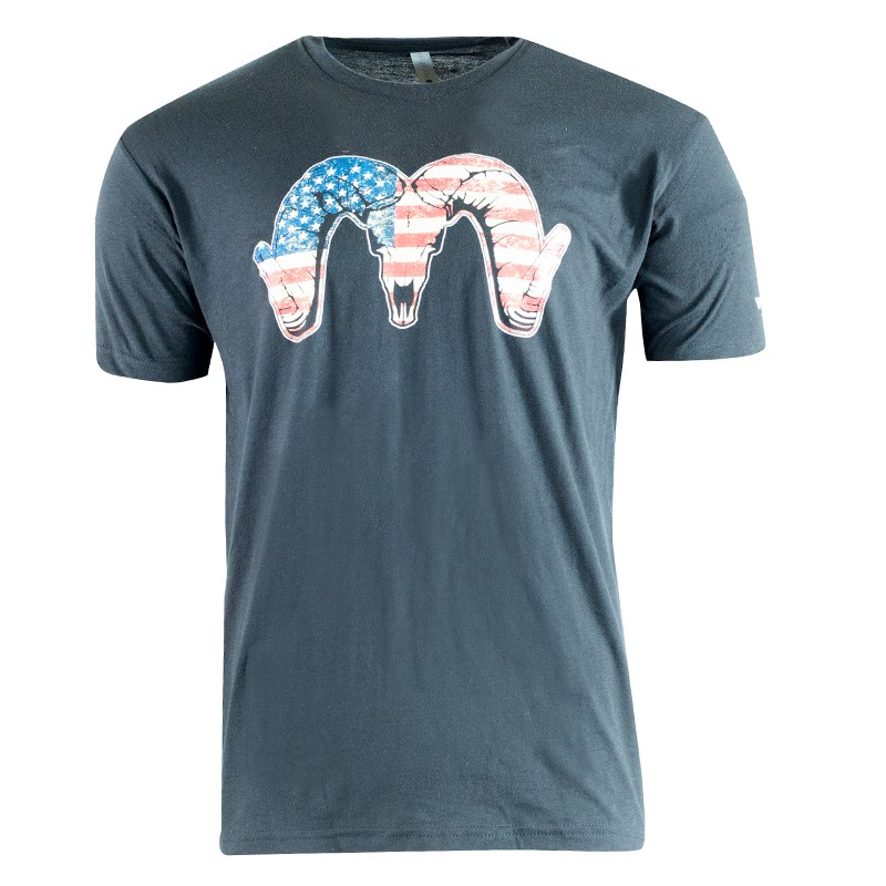 Red, White & Blue Ram T-Shirt