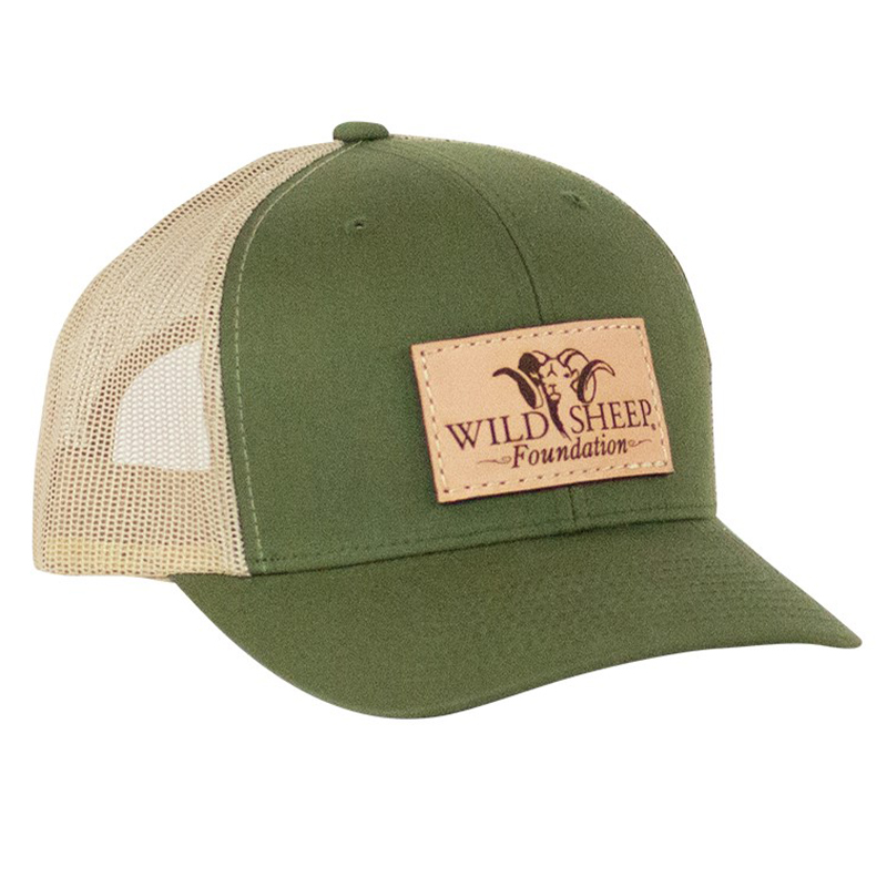 WSF Leather Patch Hat