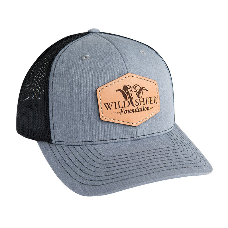 WSF Hexagon Leather Patch Hat