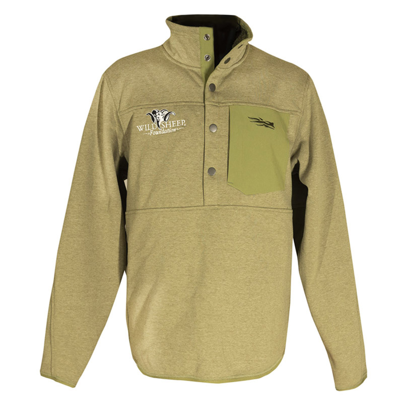 Sitka Front Range Snap Fleece
