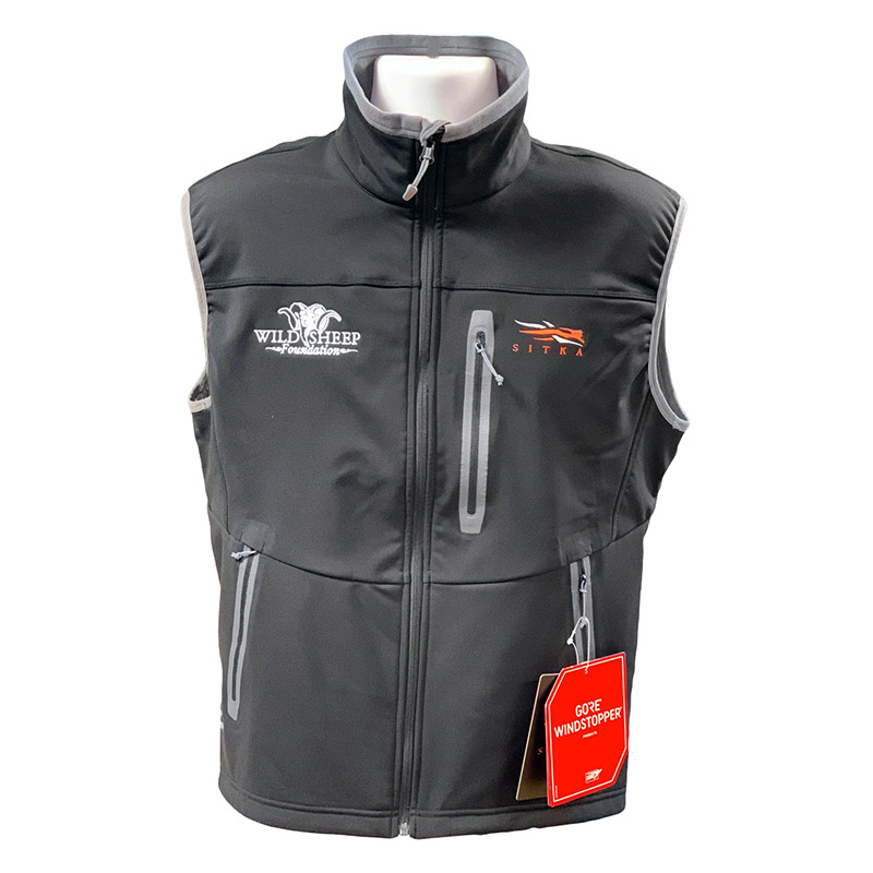Sitka Jetstream Vest in Black